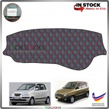 Hyundai Inokom Atos 1997-2007 RR Malaysia Custom Fit Dashboard Cover (RED LINE)