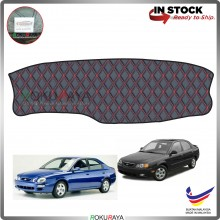 Kia Spectra Sephia RR Malaysia Custom Fit Dashboard Cover (RED LINE)