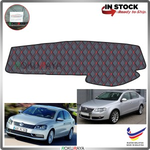 Volkswagen Passat B6 B7 2005-2015 RR Malaysia Custom Fit Dashboard Cover (RED LINE)