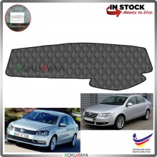 Volkswagen Passat B6 B7 2005-2015 RR Malaysia Custom Fit Dashboard Cover (BLACK LINE)