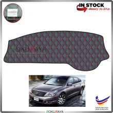 Nissan Teana J32 (2nd Gen) 2009-2013 RR Malaysia Custom Fit Dashboard Cover (RED LINE)