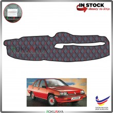 Proton Saga Iswara (1st Gen) 1985-2003 RR Malaysia Custom Fit Dashboard Cover (RED LINE)