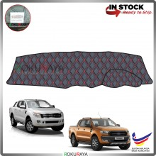 Ford Ranger T6 T7 RR Malaysia Custom Fit Dashboard Cover (RED LINE)