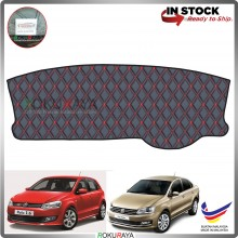 Volkswagen Polo Sedan Hatchback MK5 RR Malaysia Custom Fit Dashboard Cover (RED LINE)