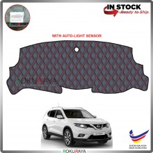 Nissan X-Trail Xtrail (3rd Gen) 2013 RR Malaysia Custom Fit Dashboard Cover (RED LINE)
