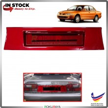 Proton Wira (Sedan Only) Custom Fit Rear Bonnet Safety Reflective Red Reflector Number Plate Holder Frame