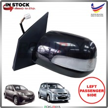 Perodua Myvi (1st Gen) 2005-2010 OEM Auto Power Flip (5 Wire) Side Door Mirror LED Signal Light Lamp (Black) (LEFT)