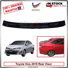 Toyota Vios Facelift 2019 AG Rear Wing Spoiler Visor Windscreen Sun Shade (Small 10cm)