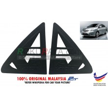 Toyota Vios ( 2nd Gen ) ( 2008-2013 ) Rear Triangle Side Window Mirror Cover 2 Piece