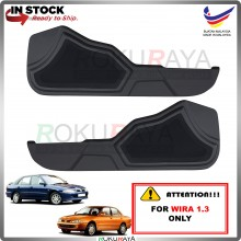 Proton Wira (1.3 ONLY) Side Door Panel Speaker Board Cover Pocket Holder PVC Wrapped (BLACK)