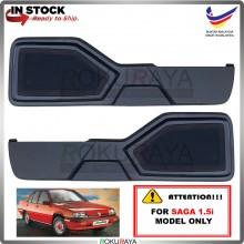 Proton Saga Iswara (1.5I ONLY) Side Door Panel Speaker Board Cover Pocket Holder PVC Wrapped (BLACK)