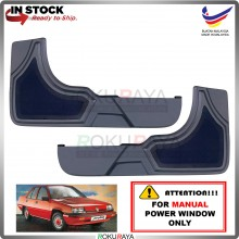 Proton Saga Iswara 1.3 (MANUAL POWER WINDOW) Side Door Panel Speaker Board Cover Pocket Holder PVC Wrapped (GREY)