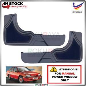 Proton Saga Iswara 1.3 (MANUAL POWER WINDOW) Side Door Panel Speaker Board Cover Pocket Holder PVC Wrapped (GREY)