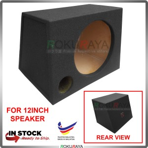 12'' 1Hole Single Carpet Sub Woofer Speaker Hot Box Mixture 6' and 4' Thickness Plywood