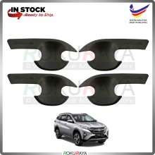 Perodua Aruz 2019 (4in1 Bowl) Door Inner Handle Trim Cover ABS Plastic (Matt Black)