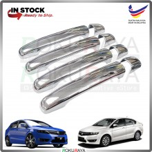 Proton Preve SuprimaS (8in1) Door Outer Handle Trim Cover ABS Plastic (Chrome)