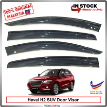 Haval H2 SUV AG Door Visor Air Press Wind Deflector (Big 12cm Width)