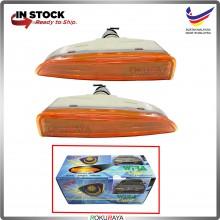 Proton Wira Front Bumper Signal Spot Fog Light Lamp Celah Celak (Amber Orange)