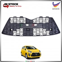 Perodua Axia 2014 (SE Model ONLY) OEM Front Bumper Bottom Lower Grille Grill Netting Towing Cap Replacement Spare Part