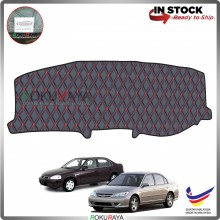Honda Civic ES (7th Gen) 2000-2005 RR Malaysia Custom Fit Dashboard Cover (RED LINE)