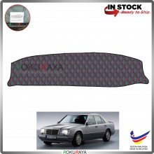 Mercedes Benz E-Class W124 1984-1995 RR Malaysia Custom Fit Dashboard Cover (RED LINE)