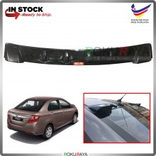 Perodua Bezza 2016 Vortex Generator Shark Fin Aerodynamic Rear Windscreen Glass Visor Diffuser Diffusor