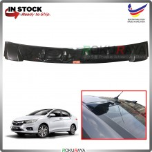Honda City (6th Gen) 2014 Vortex Generator Shark Fin Aerodynamic Rear Windscreen Glass Visor Diffuser Diffusor