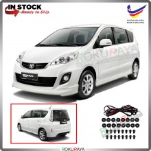 Perodua Alza Facelift 2014 ABS Plastic Bodykit Front Side Rear Skirting Clips Rubber Lining Special Edition (SE)