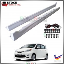 Perodua Alza Old 2009 ABS Plastic Bodykit Side Skirting Clips Rubber Lining Special Edition SE (PAIR)