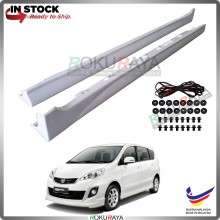 Perodua Alza Facelift 2014 ABS Plastic Bodykit Side Skirting Clips Rubber Lining Special Edition SE (PAIR)