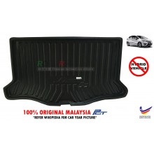 Honda Jazz GK5 ( 3rd Gen ) 2014 Custom Fit Original PE Non Slip Rear Trunk Boot Cargo Tray