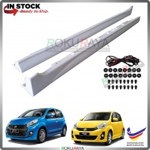 Perodua Myvi (2nd Gen) 2011-2017 Bodykit OEM Elegance ABS Plastic Side Skirt Clips Rubber Lining (PAIR)