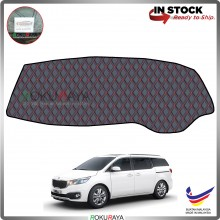 Kia Grand Carnival YP (3rd Gen) 2016 RR Malaysia Custom Fit Dashboard Cover (RED LINE)