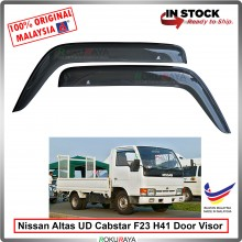 Nissan UD trucks Altas Cabstar F23 H41 AG Door Visor Air Press Wind Deflector (Big 12cm Width)