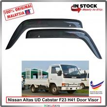 Nissan UD trucks Altas Cabstar F23 H41 AG Door Visor Air Press Wind Deflector (Big 12cm Width)
