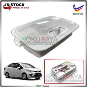 Proton Persona VVT (2nd Gen) 2016 Indoor Interior Assy Room Lamp Roof Light Lens Bulb OEM Replacement Spare Part