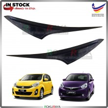 Perodua Myvi Lagi Best Custom Fit ABS Plastic Car Head Lamp  Eye Lid Brow Cover