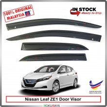 Nissan Leaf ZE1 2019 AG Door Visor Air Press Wind Deflector (Medium 8cm Width)