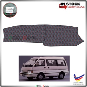 Nissan Vanette C22 (2nd Gen) RR Malaysia Custom Fit Dashboard Cover (RED LINE)