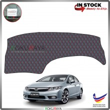 Honda Civic FB (9th Gen) 2011-2015 RR Malaysia Custom Fit Dashboard Cover (RED LINE)