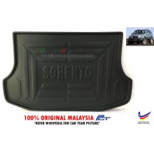 Kia Sorento BL ( 1st Gen ) 2003–2010 Custom Fit Original PE Non Slip Rear Trunk Boot Cargo Tray