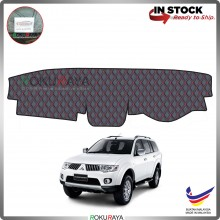 Mitsubishi Pajero Sport PB PC (2nd Gen) 2008-2016 RR Malaysia Custom Fit Dashboard Cover (RED LINE)
