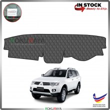 Mitsubishi Pajero Sport PB PC (2nd Gen) 2008-2016 RR Malaysia Custom Fit Dashboard Cover (BLACK LINE)