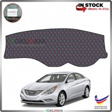 Hyundai Sonata YF (6th Gen) 2009-2014 RR Malaysia Custom Fit Dashboard Cover (RED LINE)