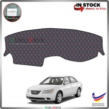 Hyundai Sonata NF (5th Gen) 2005-2009 RR Malaysia Custom Fit Dashboard Cover (RED LINE)