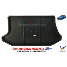 Kia Spectra 5 Hatchback ( 2nd Gen ) 2004–2006 Custom Fit Original PE Non Slip Rear Trunk Boot Cargo Tray