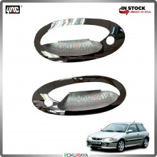 Proton Satria Door Handle Cover Garnish Trim ABS Plastic (CHROME BOWL)