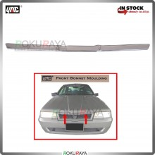 Proton Saga Iswara (1st Gen) Front Hood Top Center Grill Moulding Garnish (CHROME BONNET)