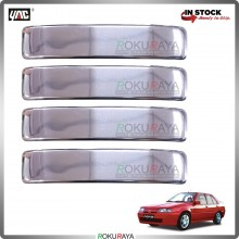 Proton Saga Iswara (1st Gen) Door Handle Cover Garnish Trim Stainless Steel (CHROME OUTER)