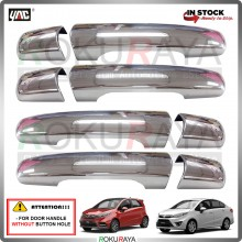 Proton Iriz Persona Saga VVT 2016 Door Handle Cover Garnish Trim ABS Plastic (CHROME OUTER)